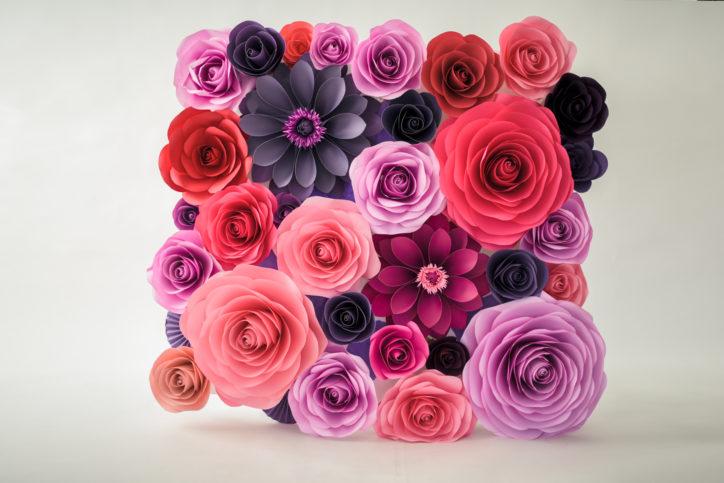 paper flower artist paper petals hsv