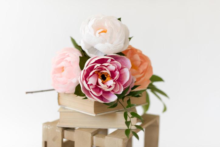 paper petals hsv flowers
