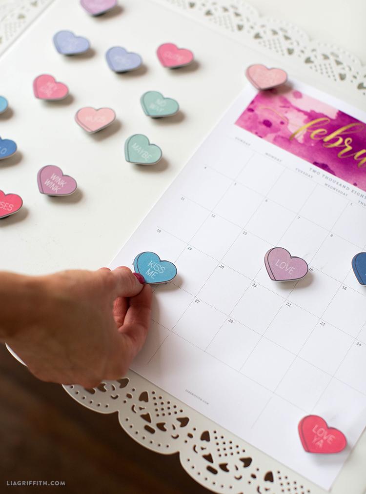 valentine's day magnets