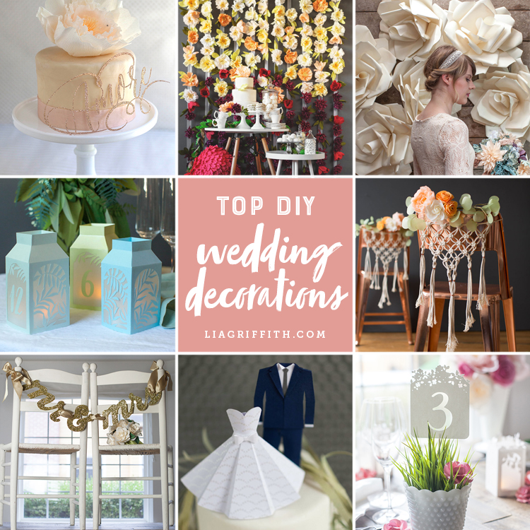 Browse And Craft Our Top Diy Wedding Decorations