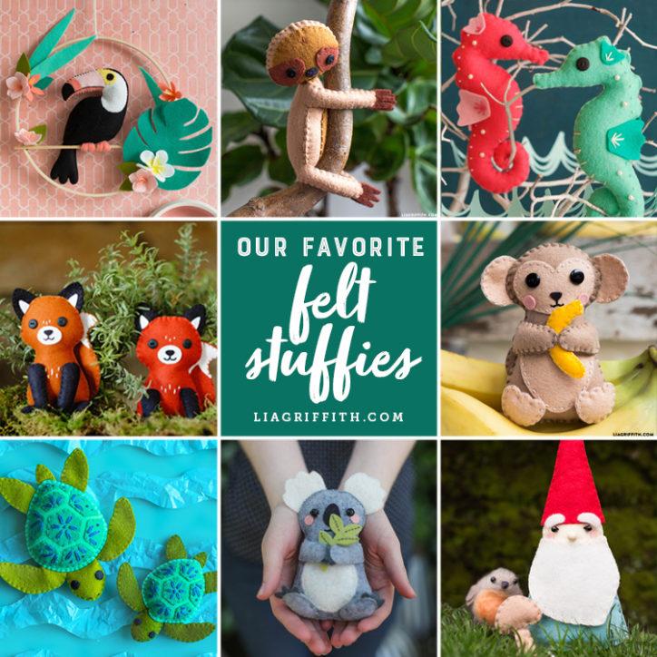 felt stuffies