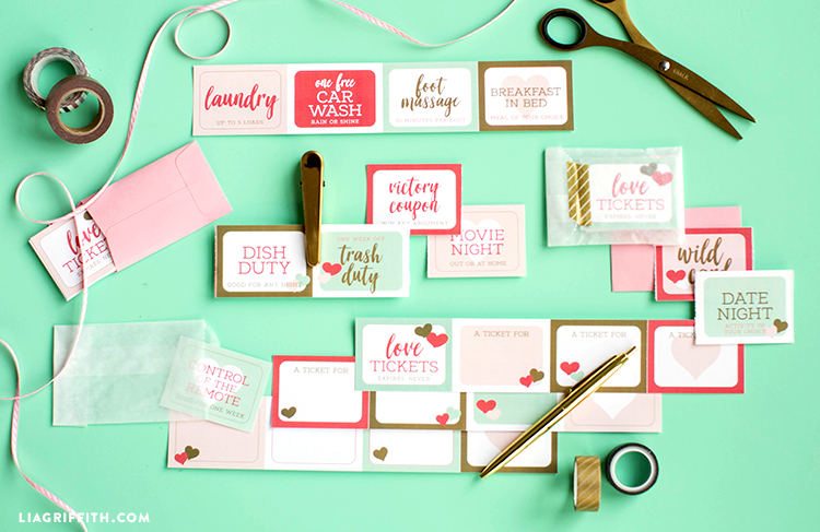 printable love coupons for valentine's