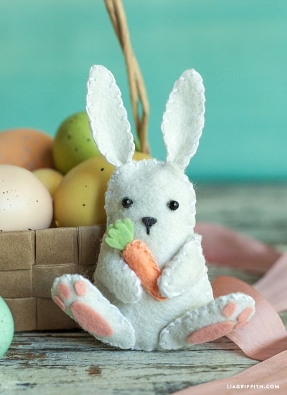 stuffed easter bunny