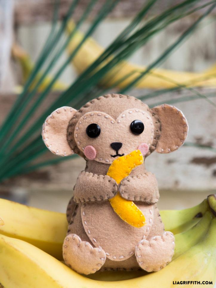 stuffed monkey