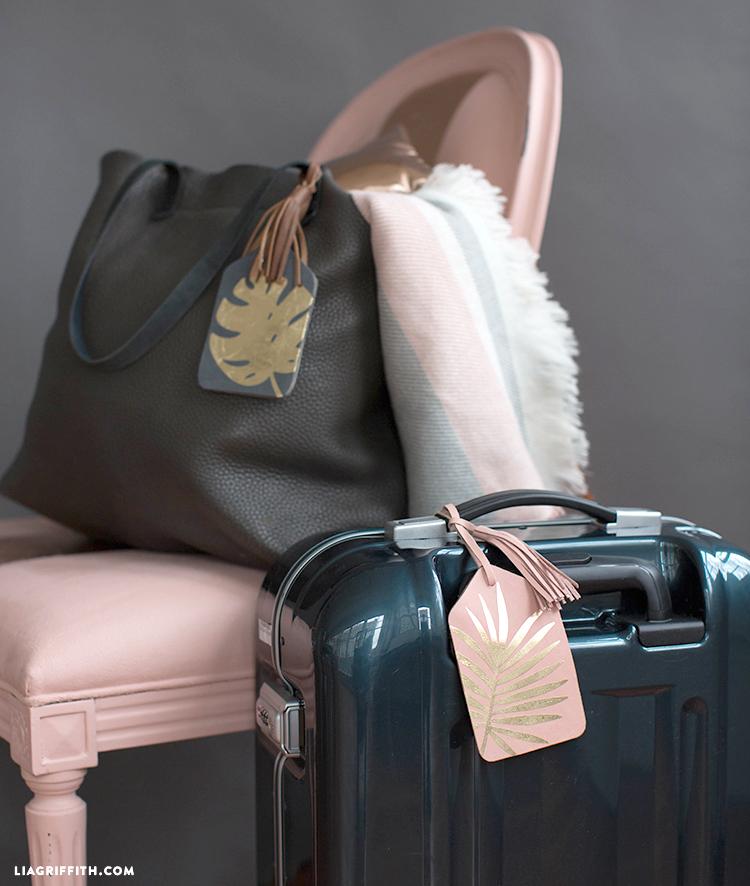 svg cut luggage tags