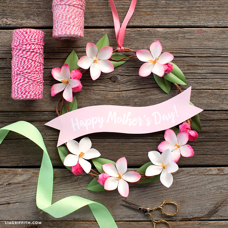 diy mother's day wreath