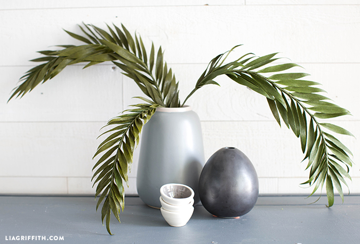 diy palm fronds