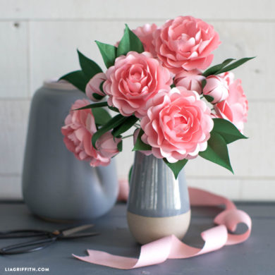 Video Tutorial: Frosted Paper Camellia Flower