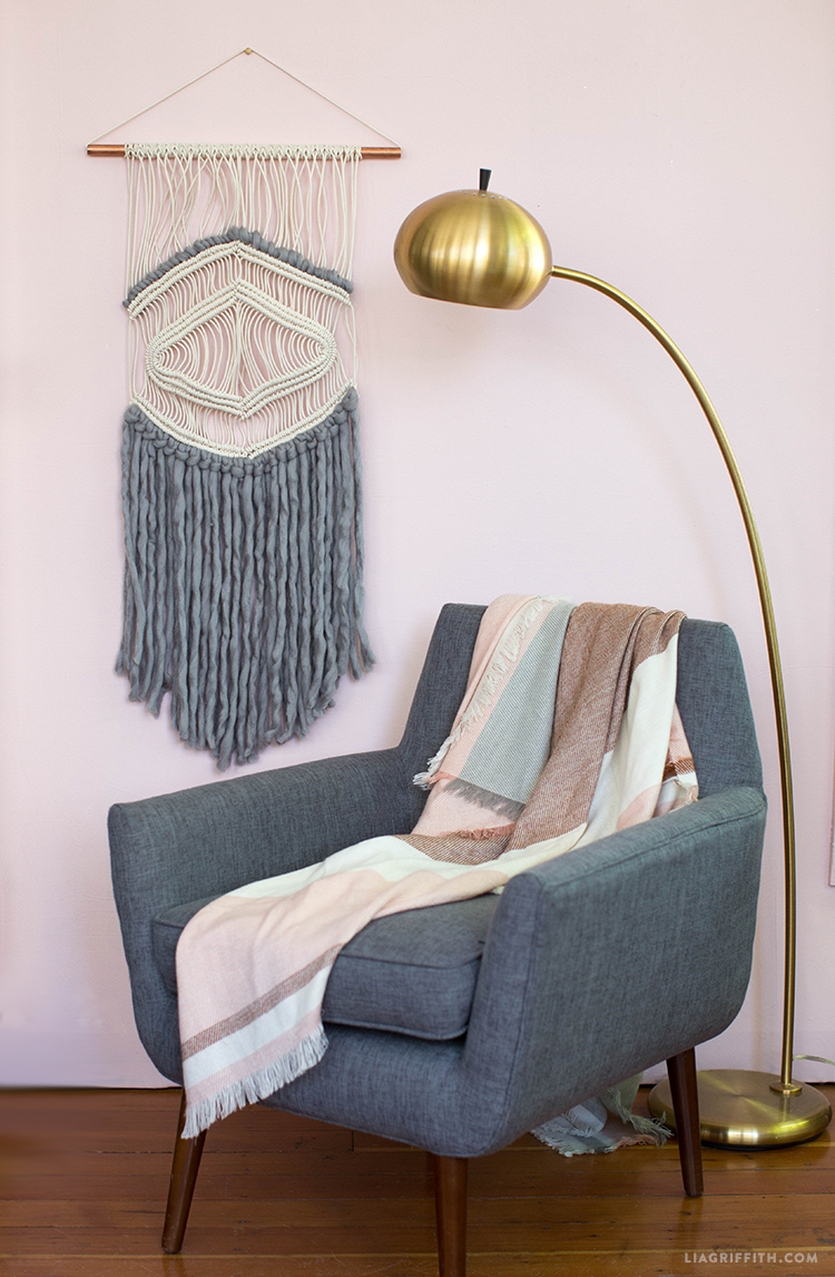 diy macrame wall hanging