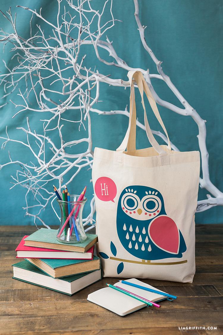 iron-on owl design