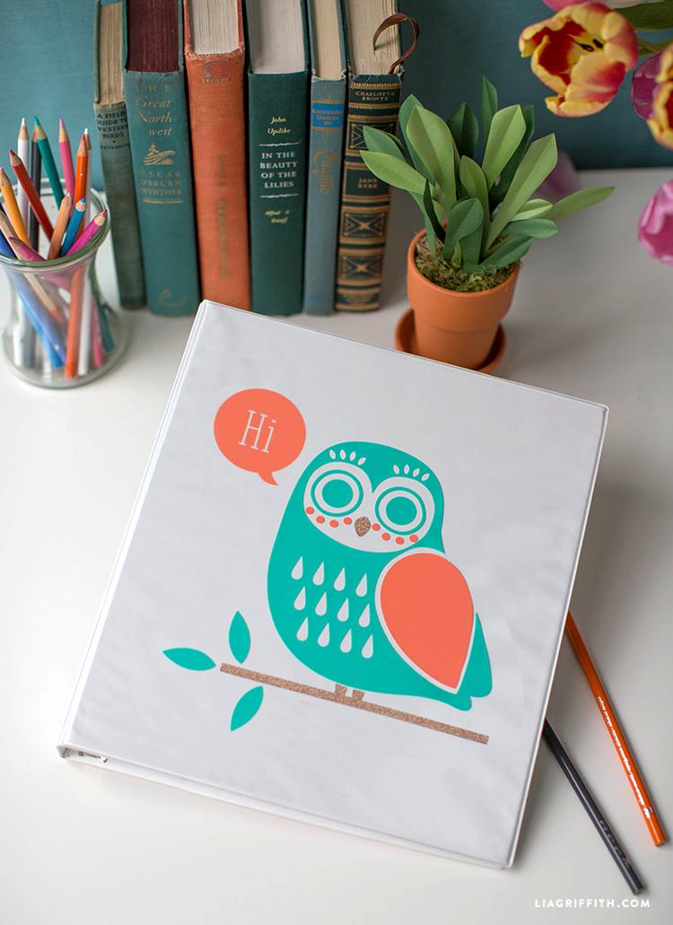 vinyl owl design