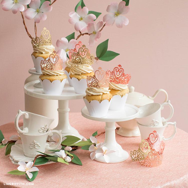 royal wedding cupcakes