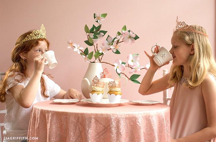 papercut princess crowns