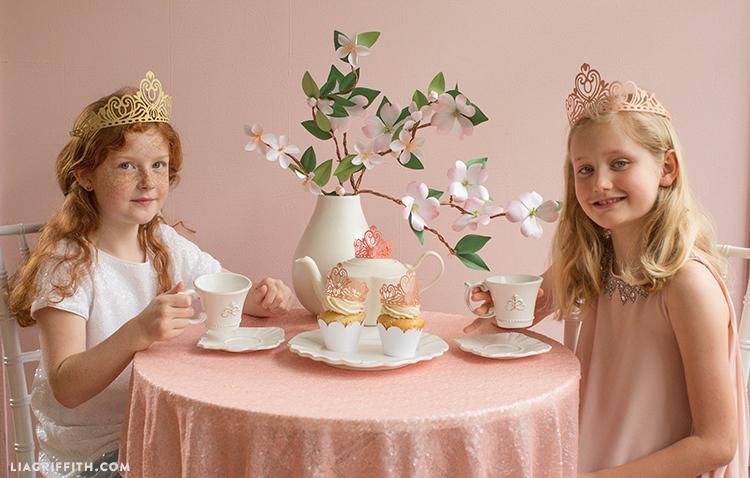 tea party crowns