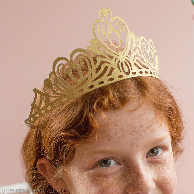 paper princess crown