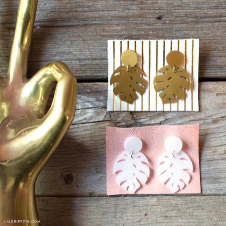 tropical earrings
