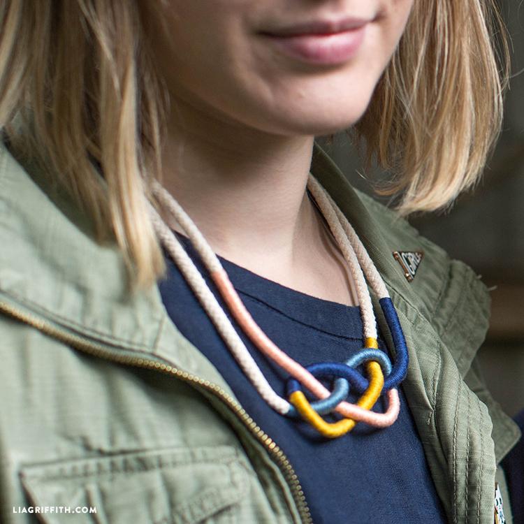 Macrame Knots Necklace