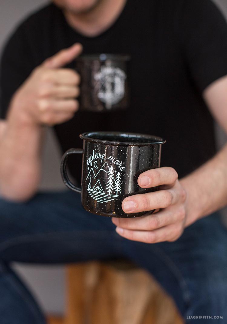 adventure camping mugs