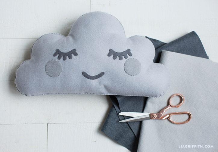 Felt Cloud Pillow