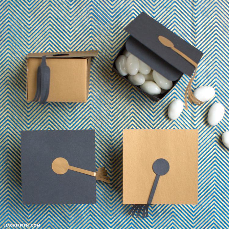 graduation treat boxes