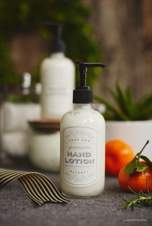 diy hand lotion
