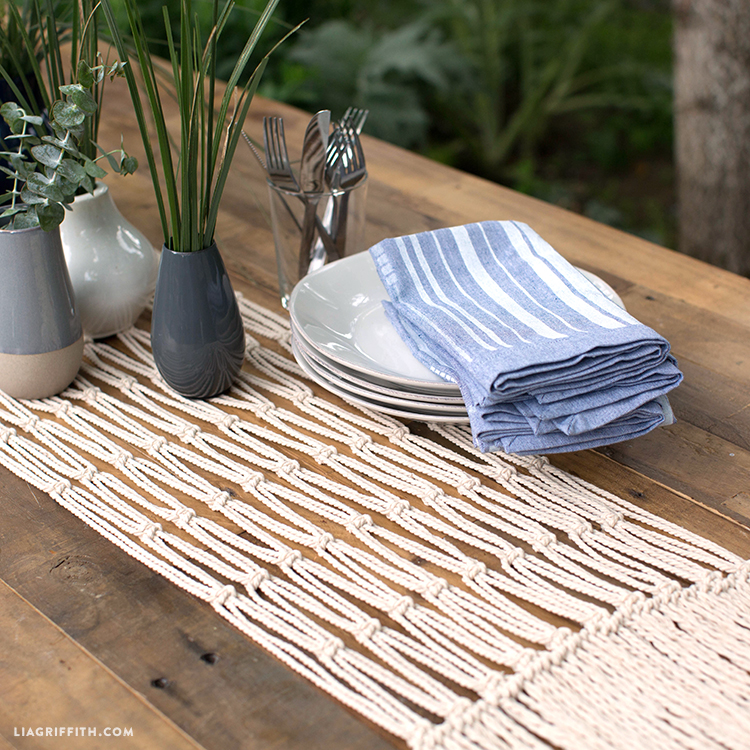 How To Macrame Table Runner