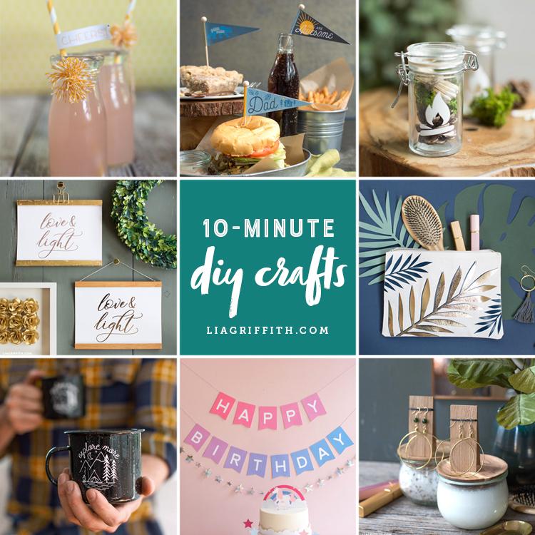 10-Minute DIY Easy Crafts