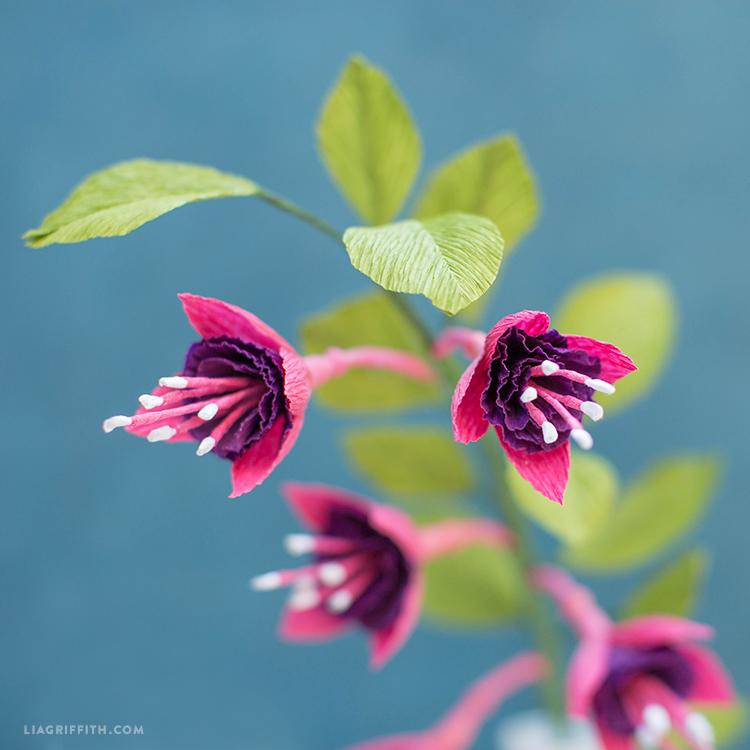 Crepe Paper Fuchsia