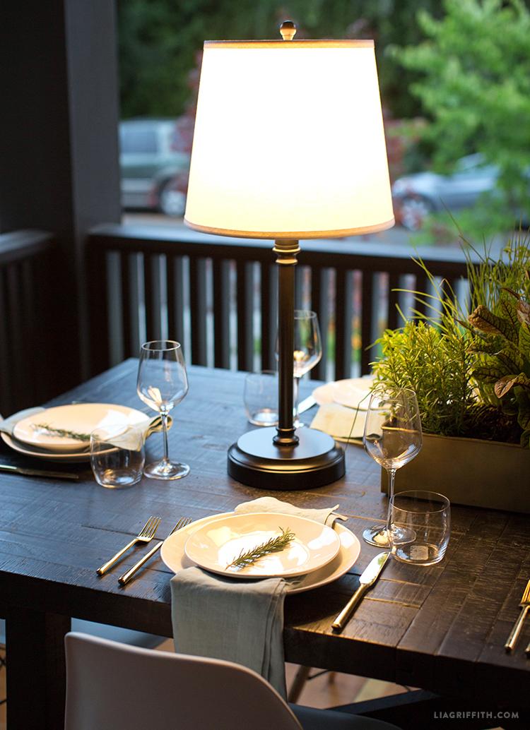 Outdoor Lamps Cordless Modern Lanterns