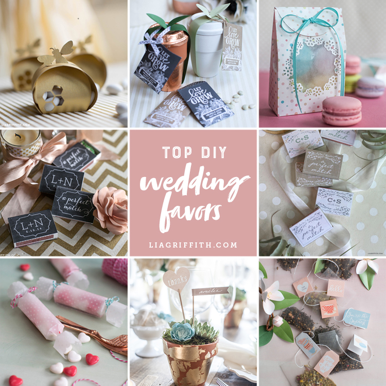 DIY Your Big Day With These Crafty Wedding Party Favors!