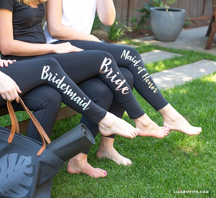 iron-on bridal party gifts