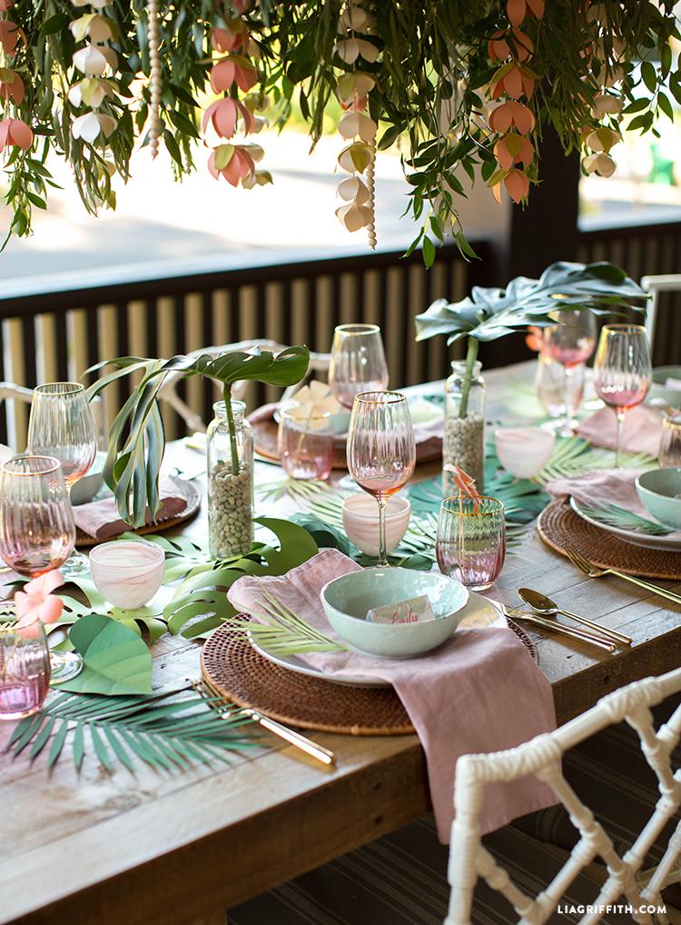 Bridal Shower Brunch Table