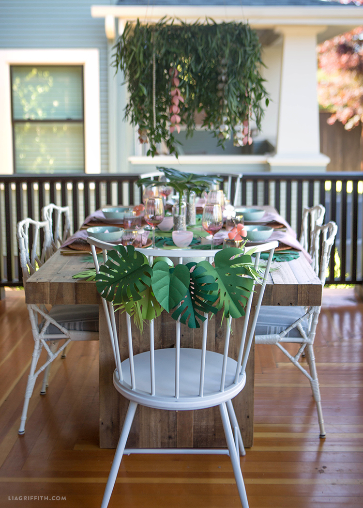 Decorations for Bridal Shower Table