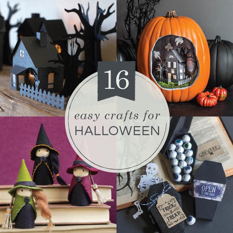 16 easy Halloween crafts