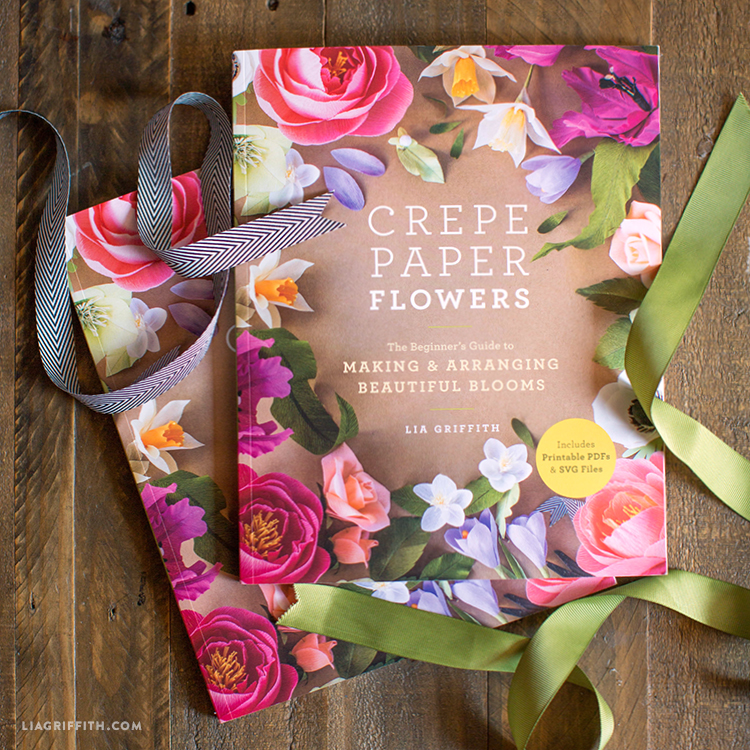 Crepe Paper Flowers book cover