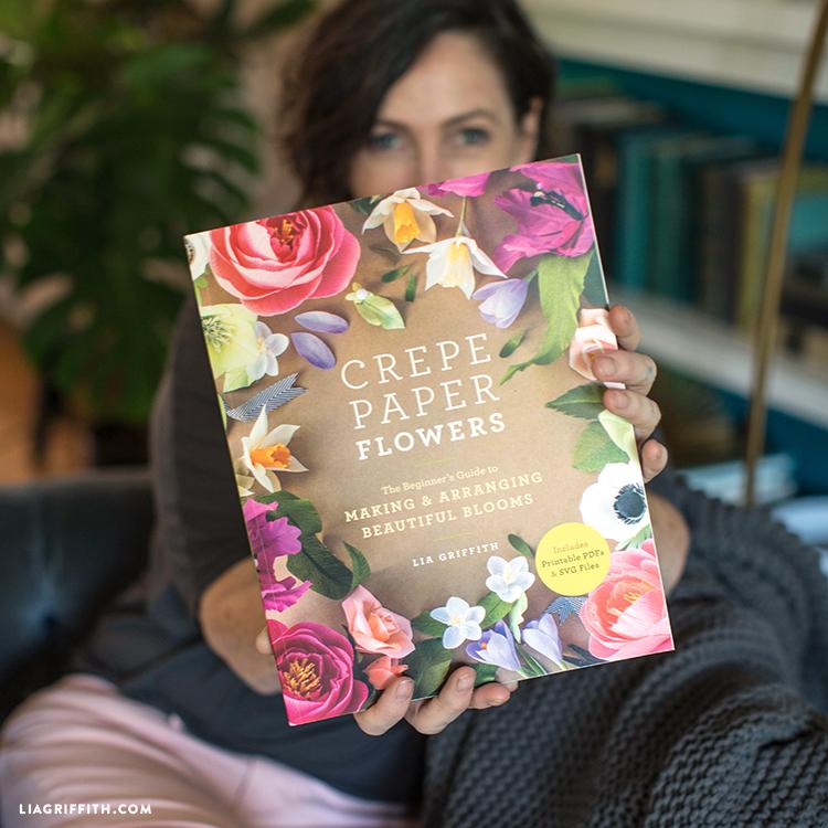 30 Beautiful Crepe Paper Flower Patterns Crepe Paper Flowers