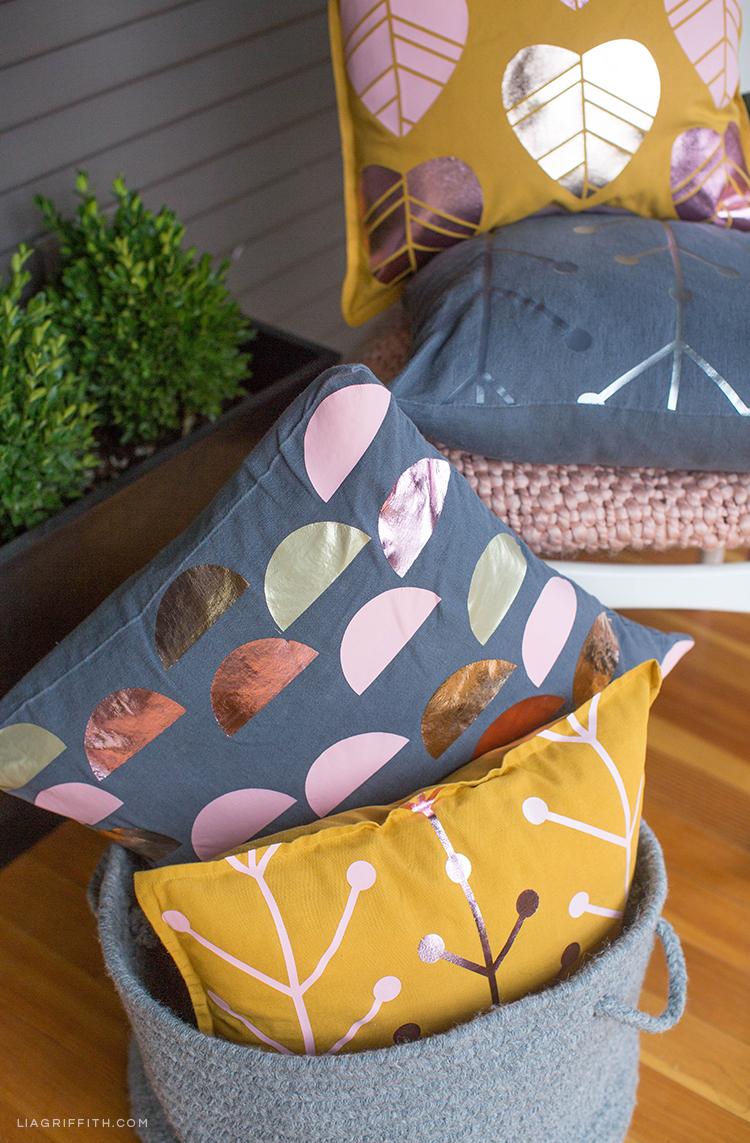 Scandinavian design on outdoor pillows