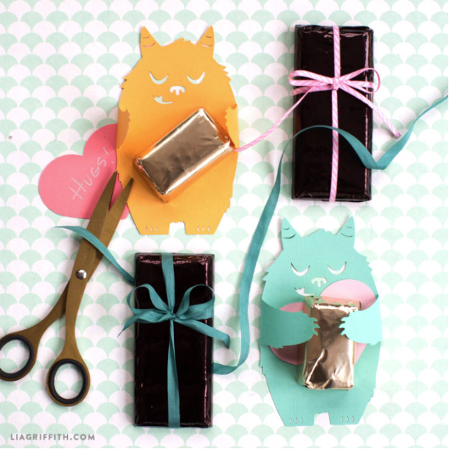 paper candy huggers