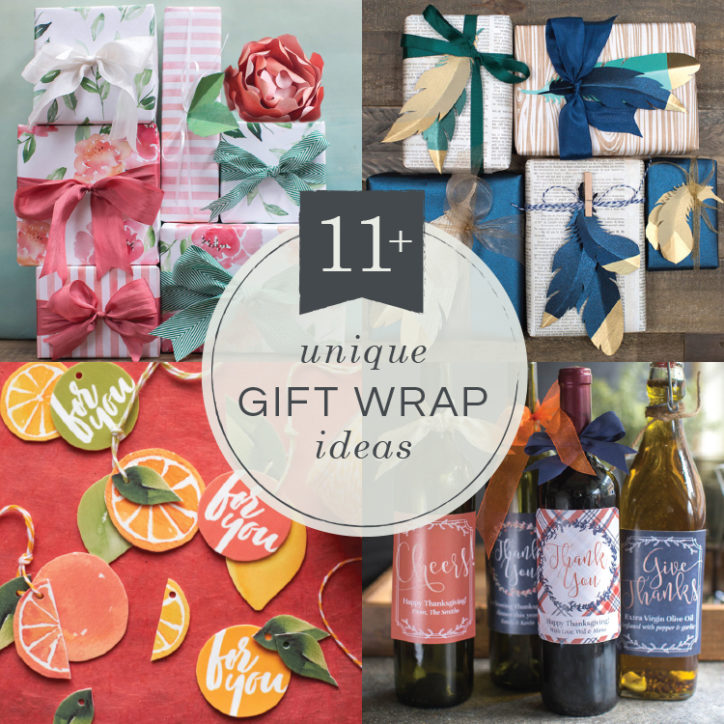 11+ unique gift wrap ideas from Lia Griffith