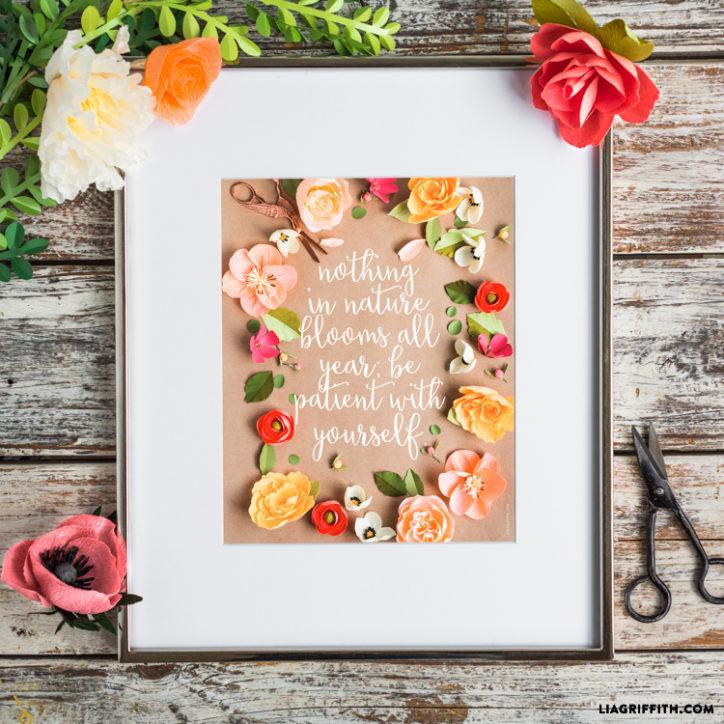 Floral Printable Art