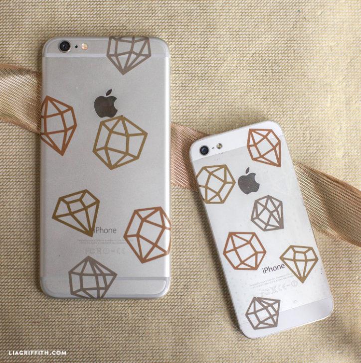 DIY phone case decorations