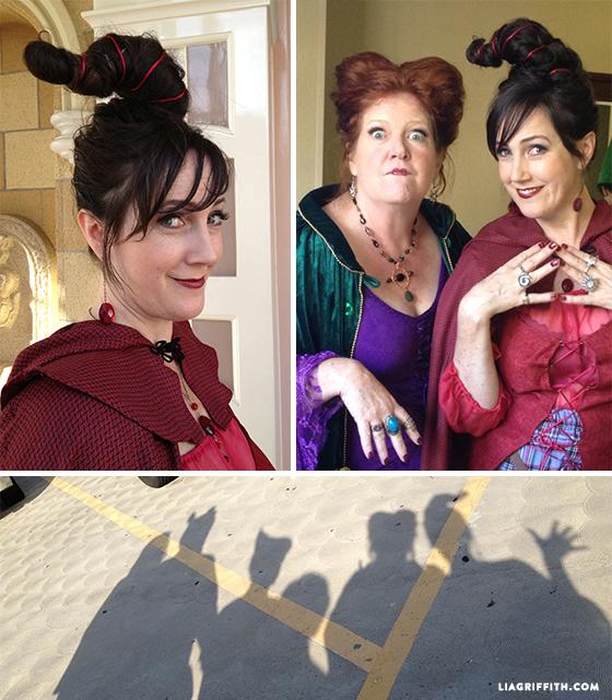DIY hocus pocus costumes for adults