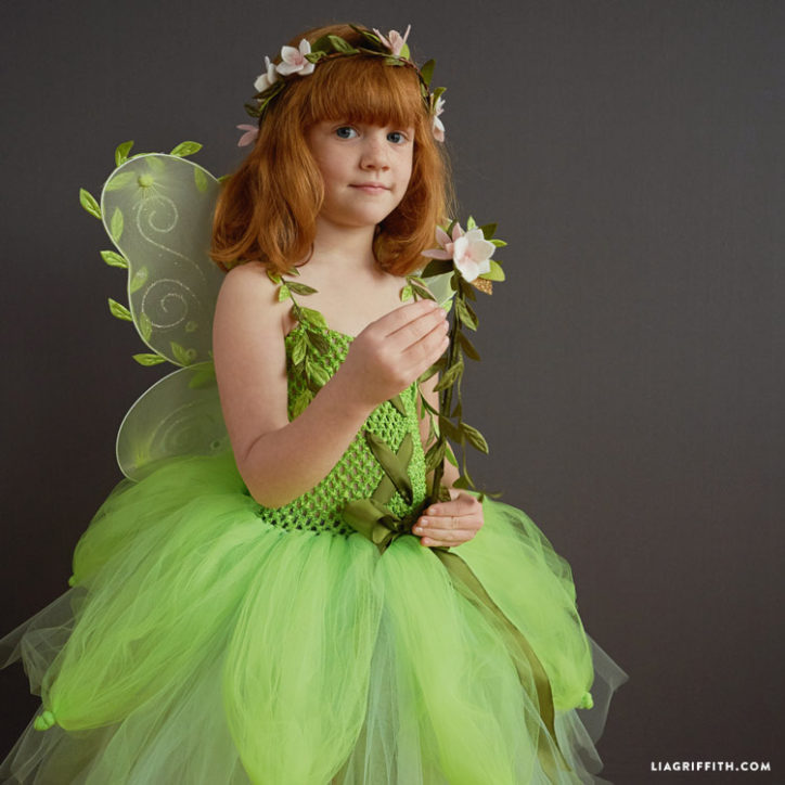 Kid's DIY fairy costume