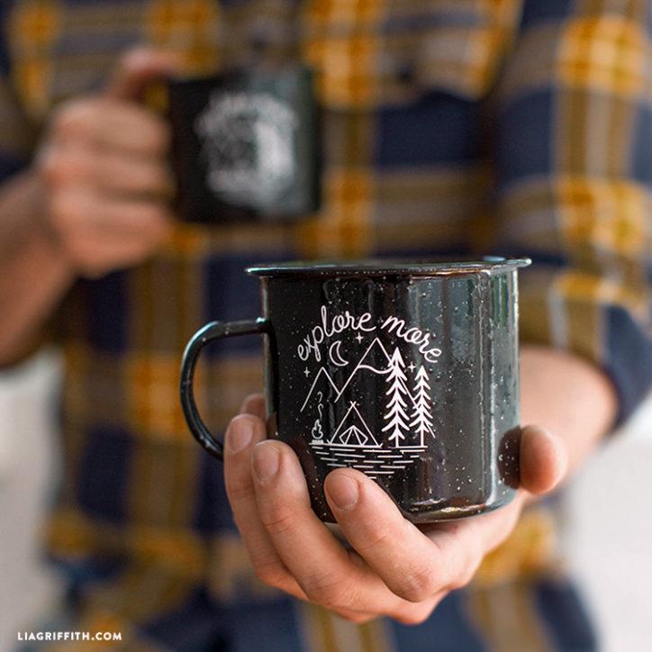 DIY camping mug