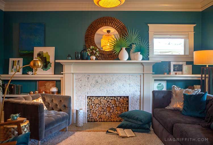 Tropical living room inspiration