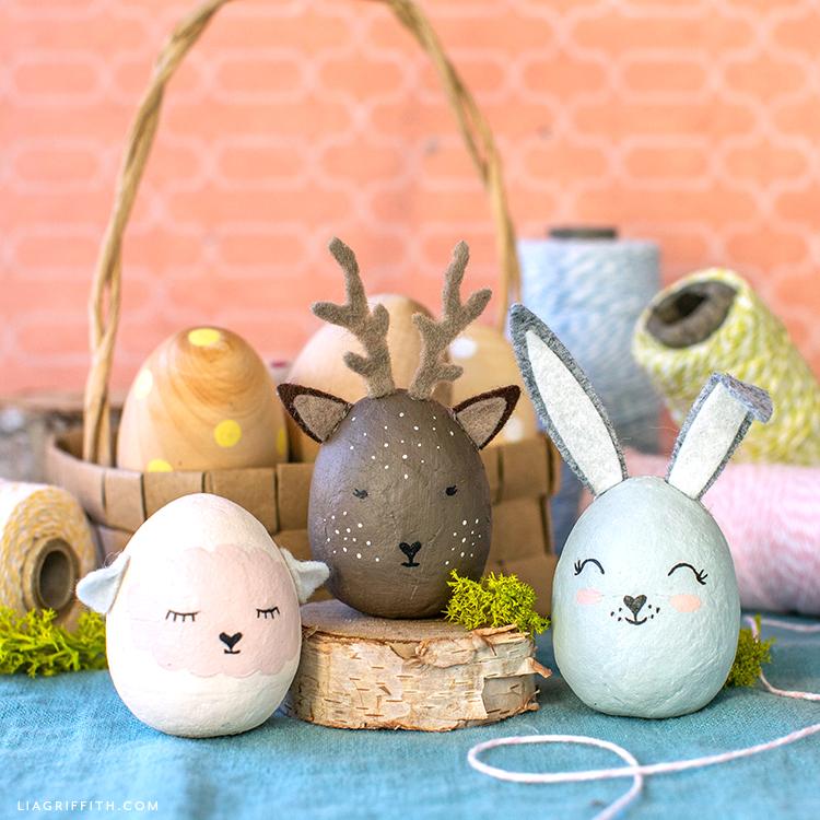 Easter Hedgehog Bunny Ears Egg Needle Felted Decoration Gift