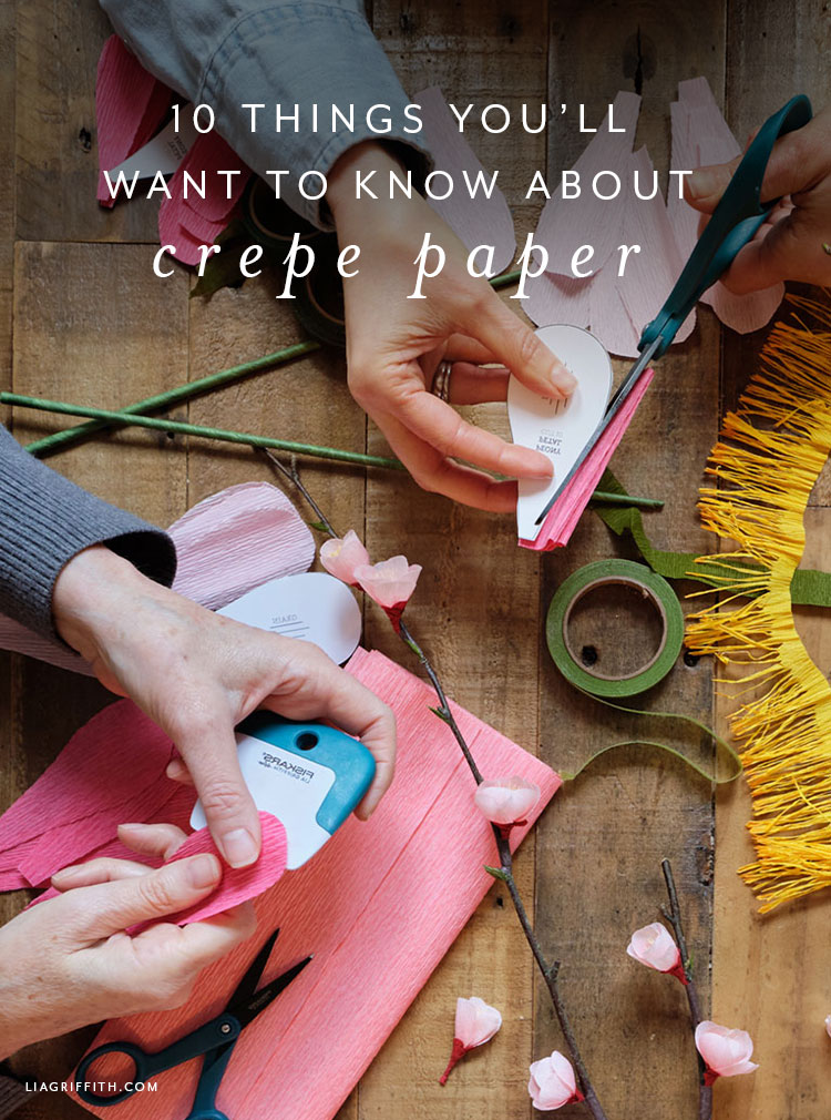 10 things to know about crepe paper