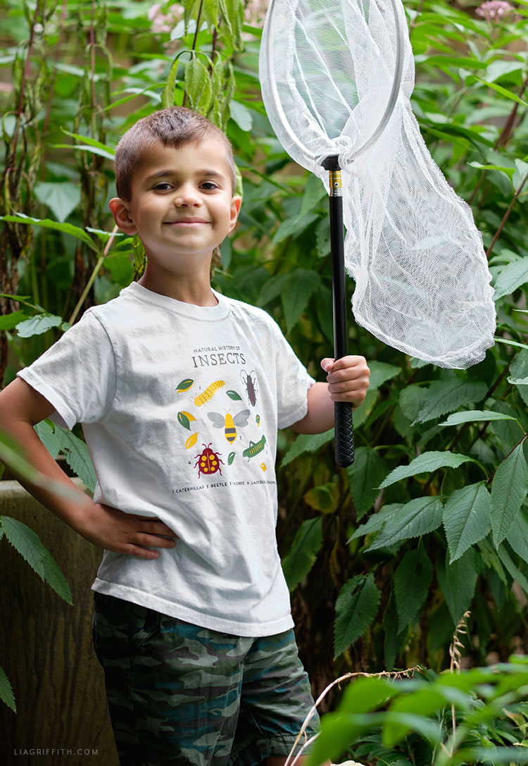 heat transfer insect shirt design