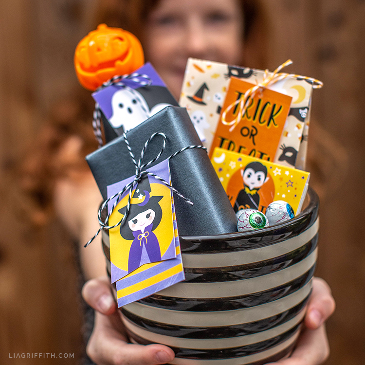 printable tags for Halloween
