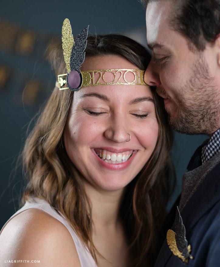 papercut roaring 20s headband